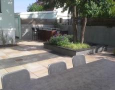 Terrasse grès